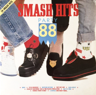 V/A - Smash Hits Party 88 (LP) (VG+/VG)
